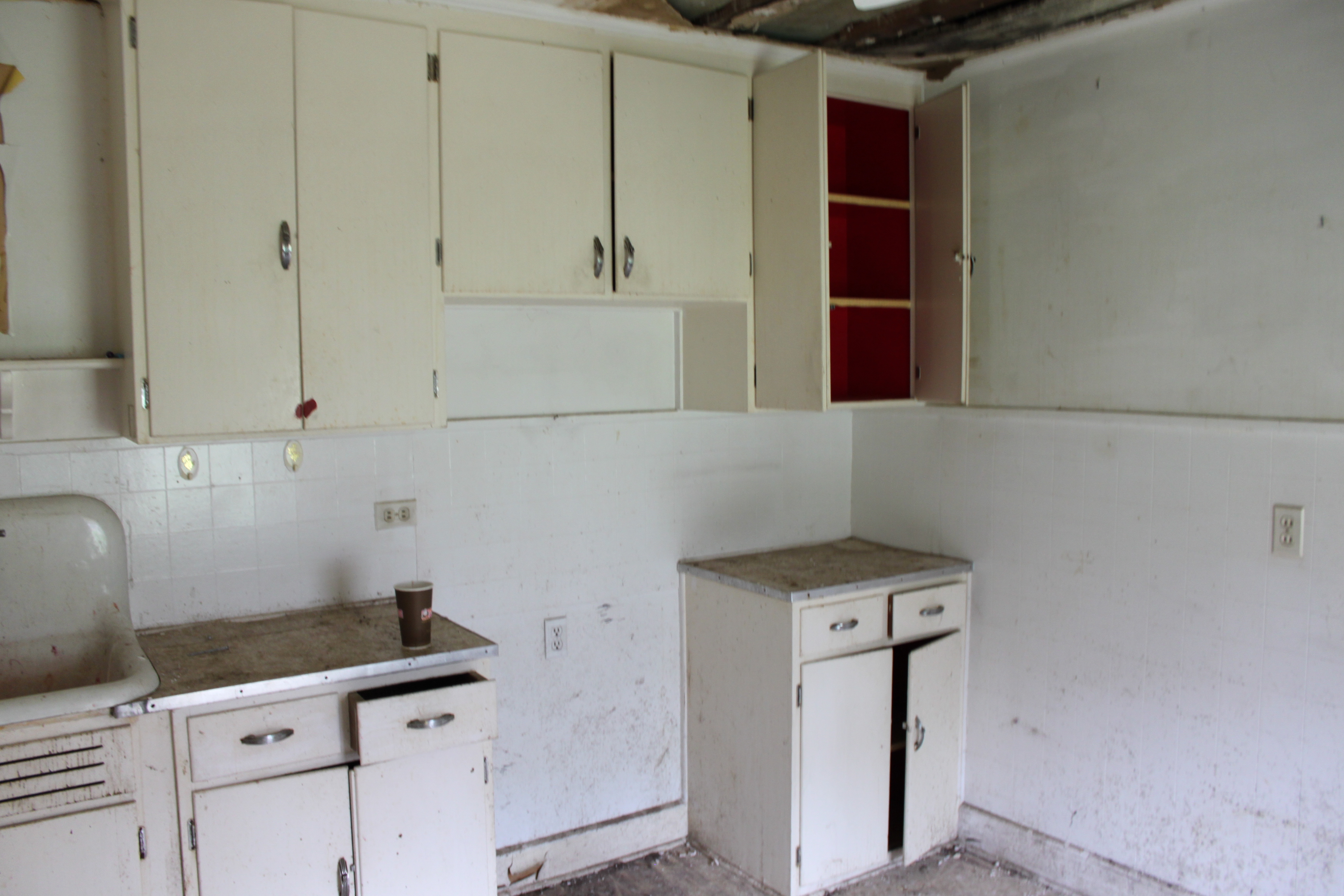 DINGY OLD KITCHEN