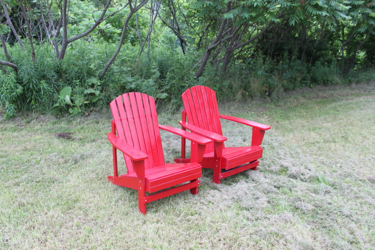 These Are Real Wood, Painted Red